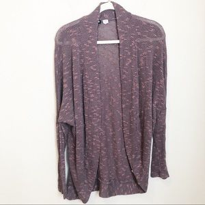 Urban Outfitters BDG Light Open Cardigan